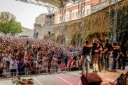 Bosstime Open Air Konzert beim Festungsfest zu Rhein in Flammen am 06.08.2015 auf Festung Ehrenbreitstein, Koblenz