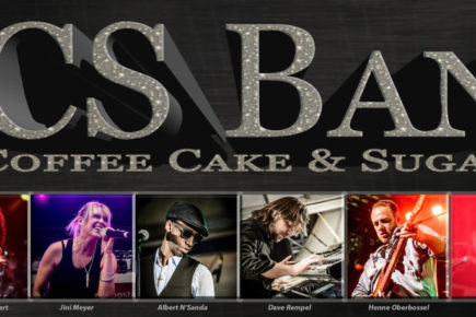 CCS-BAND - COFFEE CAKE & SUGAR
